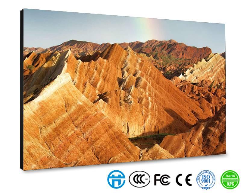 北京市顺义区新世界百货液晶拼接屏安装