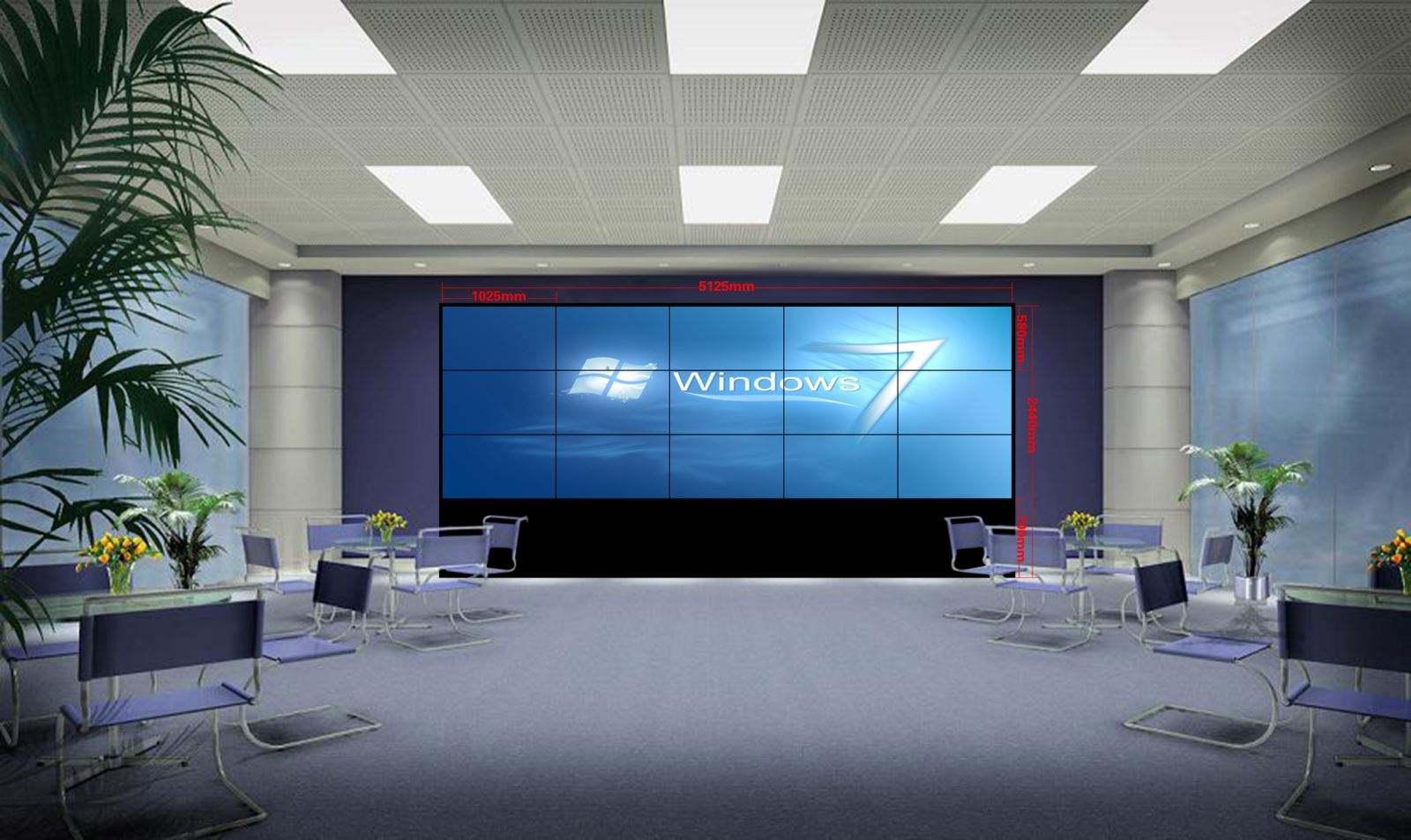 液晶拼接屏能当电视用吗?液晶电视拼接处理器