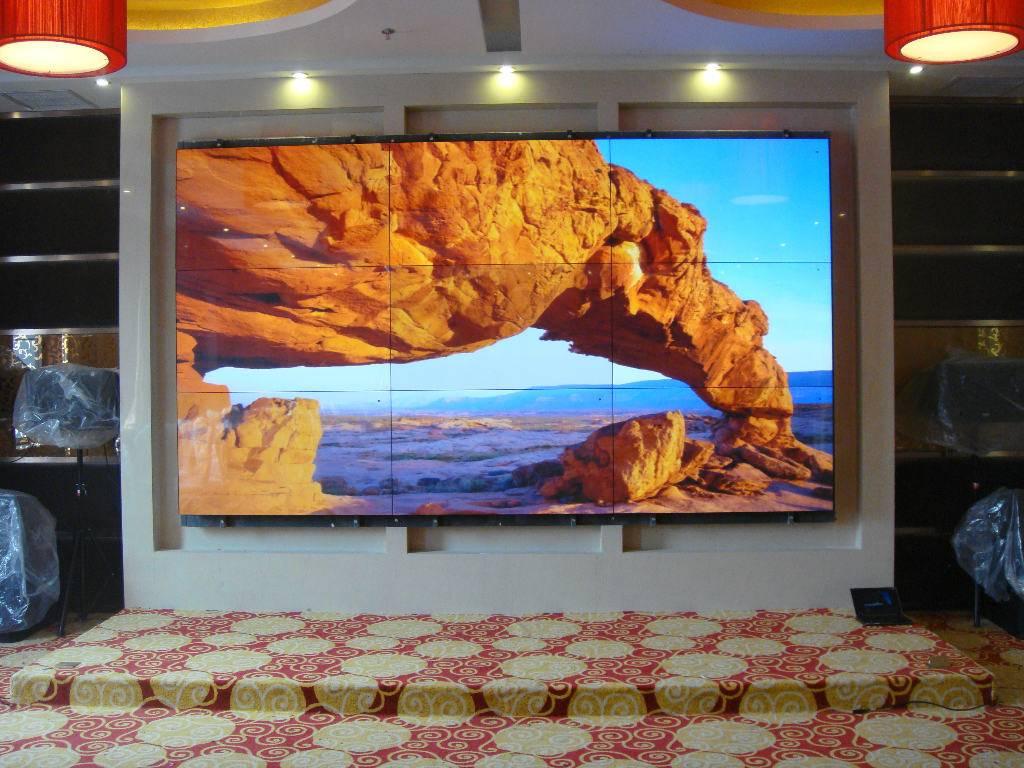 液晶拼接屏在酒店餐饮行业应用的解决方案